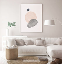 Load image into Gallery viewer, Earth Color Living Room Wall Art