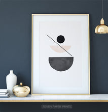 Load image into Gallery viewer, Desert Color Neutral Art Print for dark walls