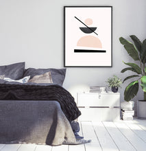 Load image into Gallery viewer, Big Abstract Print for Bedroom