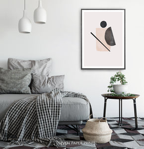 Nordic Room Abstract Print