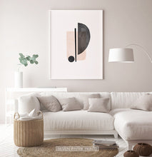 Load image into Gallery viewer, Geometry Wall Art in Living Room