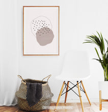 Load image into Gallery viewer, Modern Mid Century Style Boho Abstract Art
