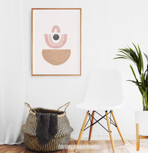 Load image into Gallery viewer, Bohemian Shapes, Mid Century Line Art