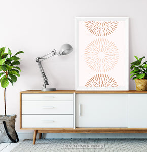 Radial Art for Living Room