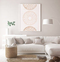 Load image into Gallery viewer, Boho Wall Art Decor, Radial Art