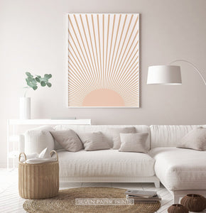 Sunrise Print  for Living Room