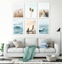 Load image into Gallery viewer, Turquoise Waves and Warm Color Coastal Photography Set
