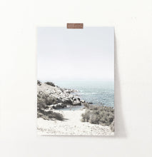 Load image into Gallery viewer, Beach art, ocean print, beach poster