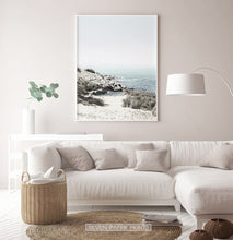 Load image into Gallery viewer, Beautiful Seascape With Greenery Wall Art for Living Room