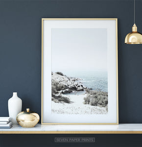 Dressing Table Ocean Wall Art Decor Ideas