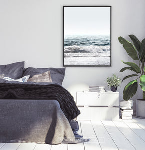 Crystal Ocean Waves Print