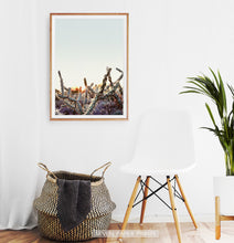 Load image into Gallery viewer, Cactus Sunset Wall Art