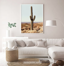 Load image into Gallery viewer, Saguaro National Park Cactus Print