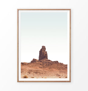 Monument valley print, monument valley scenic wall art