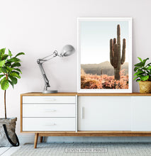 Load image into Gallery viewer, Giant Saguaro Cactus Wall Art