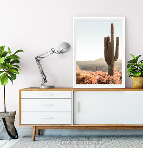 Giant Saguaro Cactus Wall Art