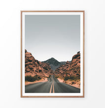 Load image into Gallery viewer, Colorado Mountain pass, Colorado road between rocks