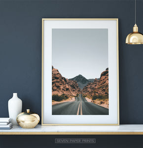 Colorado Mountain Pass Print