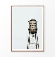 Load image into Gallery viewer, Round Rock Water Tower Print