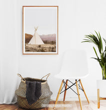 Load image into Gallery viewer, Teepee El Cosmico Photograph