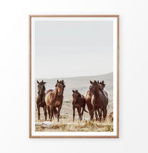 Load image into Gallery viewer, Rustic horses wall art