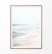 Load image into Gallery viewer, Soft beach print, seashore wall art