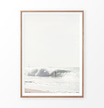 Load image into Gallery viewer, Surfing wall decor, big ocean wave print