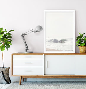 Surfer on Waves Living Room Poster