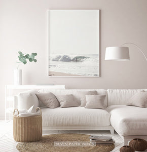 Bright Wall Art in Surfer Style for Living