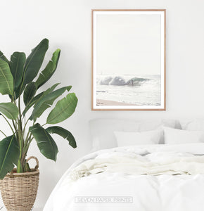 High Wave and Surfer Bedroom Decor