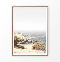 Load image into Gallery viewer, California beach print, seaside wall art