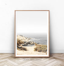 Load image into Gallery viewer, California Beach Ocean Landscape Wall Art