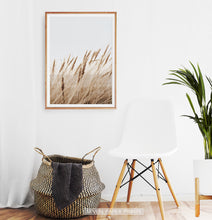 Load image into Gallery viewer, Brown Common Reed Poster