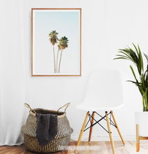Load image into Gallery viewer, Tall Palm Trees Print