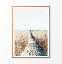 Load image into Gallery viewer, Sandy beach path print