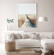 Load image into Gallery viewer, Beige living room coastal wall decor idea