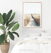 Load image into Gallery viewer, Clean bedroom coastal beach wall art