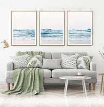 Load image into Gallery viewer, Ocean Beach 3 Piece Wall Art for Living Room