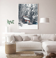Load image into Gallery viewer, White-framed in the living room with white sofa