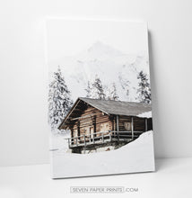 Load image into Gallery viewer, Wooden house canvas print