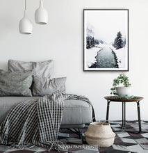 Load image into Gallery viewer, Black-framed in a bedroom