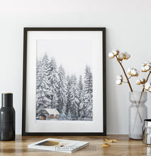 Load image into Gallery viewer, Black-framed on a wooden shelf