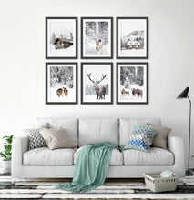 Load image into Gallery viewer, Black-framed in the living room