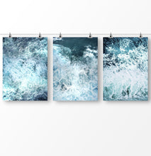 Load image into Gallery viewer, Ocean Wave, Sea photography set of 3 prints