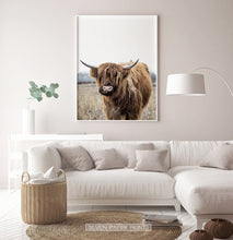 Load image into Gallery viewer, Bull Photography Wall Art