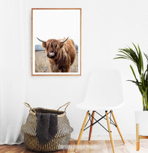 Load image into Gallery viewer, Terracotta Cow in Meadow Wall Decor