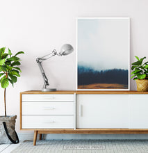 Load image into Gallery viewer, Foggy Pine Forest On Sandy Earth Photo Print