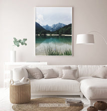 Load image into Gallery viewer, Canadian Mountain Forest Lake Photo Print