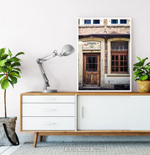 Load image into Gallery viewer, Vintage Pub Wall Art Wooden Door and Window Photography