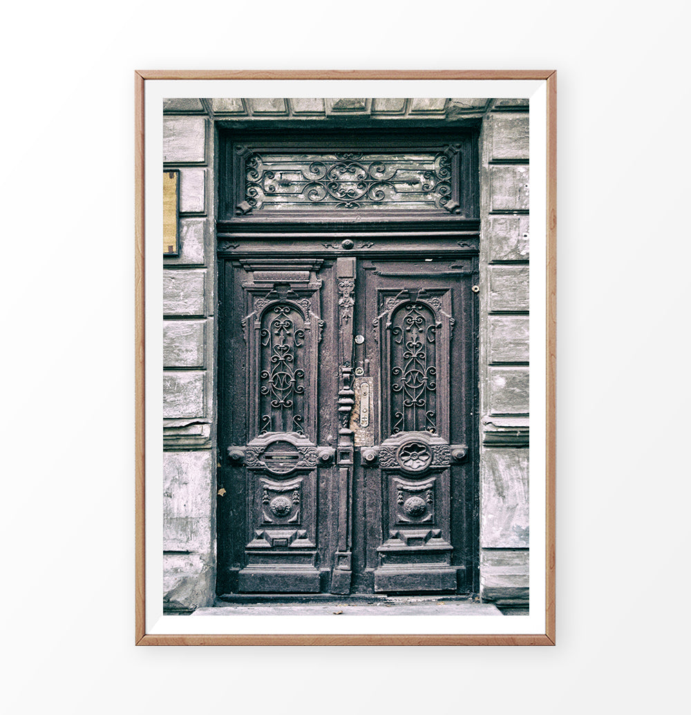 Vintage Door Photography. Printed and Shipped Wall Art